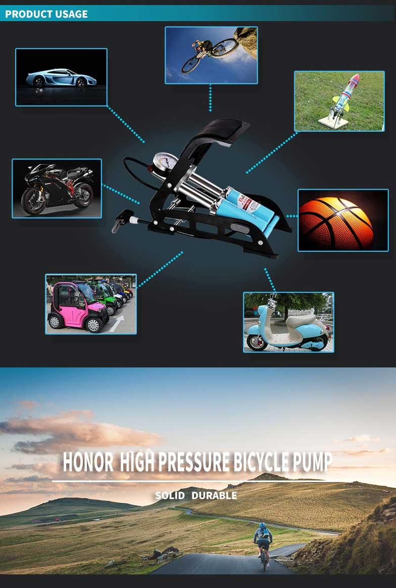 honor foot bicycle pump